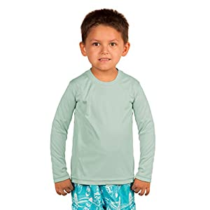 Vapor Apparel Toddler UPF 50+ UV Sun Protection Long Sleeve Performance T-Shirt for Sports and Outdoor Lifestyle