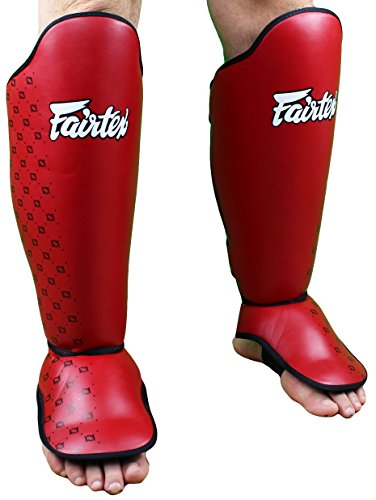 Fairtex Competition Shin Guards - Black - Large
