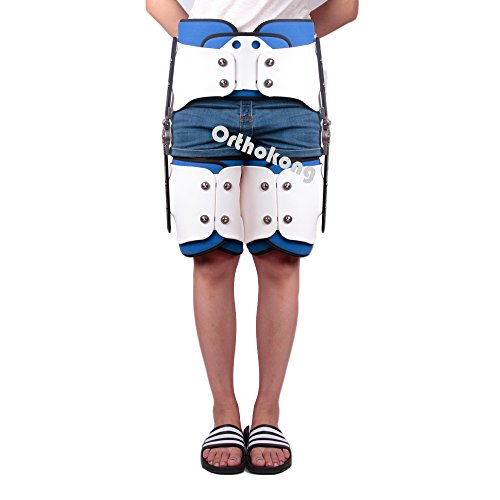Hip Joint Dislocation Of Hip Abduction Orthosis Fixation Hinge Adjustable Waist Leg Brace Femur Injury(Both) FREE SHIPPING BY EMS ABOUT 8-10 Days by Orthokong (Image #9)
