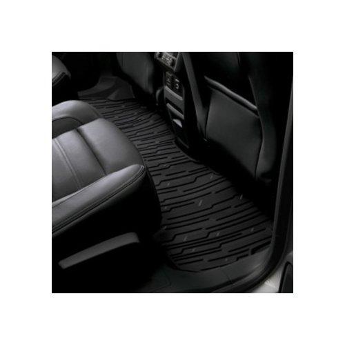 General Motors Gm Rubber - General Motors GM 84042960 Premium All-Weather Floor Mat, Jet Black