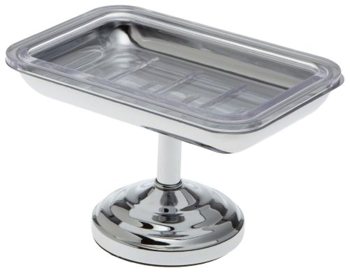 喉が渇いた集団的やさしくTaymor Pedestal Soap Dish, Chrome by Taymor Industries