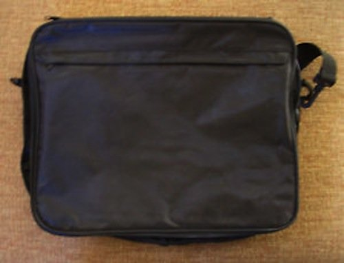 - Large Lapel Pin Trading Collector Bag (Black)
