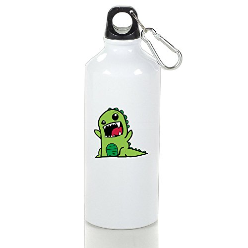 [DETED Seamless Dinosaur Drinkware Water Bottle For Gym Travel Home Office Running Sport Outdoor] (Resident Evil 5 Alice Costume)
