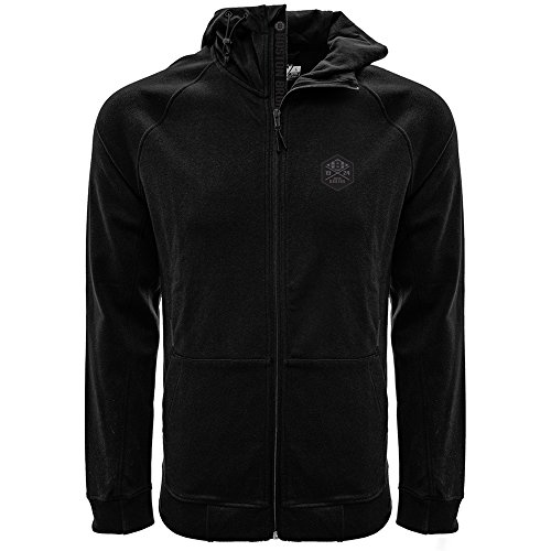 - Levelwear LEY9R NHL Boston Bruins Adult Men Fortress Cross Over Full Zip Hooded Sweatshirt, X-Large, Black