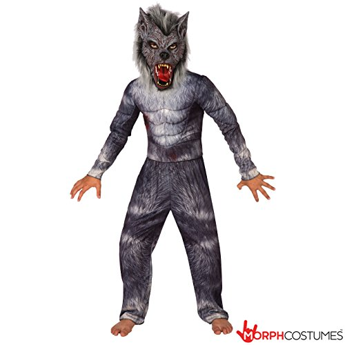 Boys Werewolf Legend Deluxe Costume - 4 Piece Quality Costume