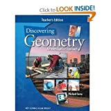 Discovering Geometry: An Investigative Approach, Michael Serra, 1559538821
