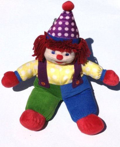 Gymboree Clown Plush
