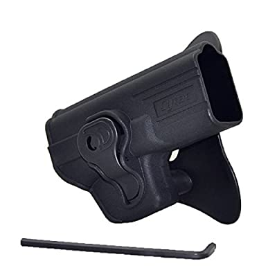 Tactical Gun Holster for GLOCK 17 18 19 22 23 24 25 31 32 34 35 37 38