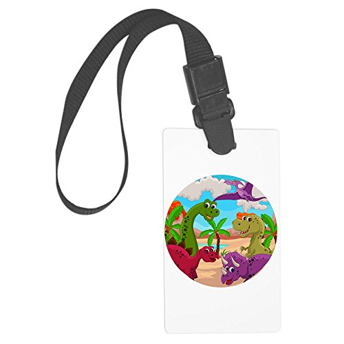 Royal Lion Large Luggage Tag Dinosaurs HD