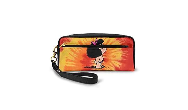 FREDDIE-ADAMS - Neceser pequeño para Maquillaje, Bolso de Viaje, Bolsa de cosméticos para Mujer (Todo Mafalda) (19 x 5,7 x 8,3 cm): Amazon.es: Hogar