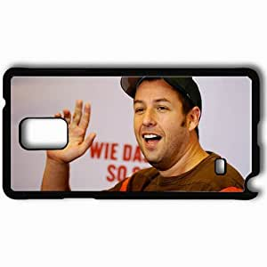 Personalized Samsung Note 4 Cell phone Case/Cover Skin Adam sandler face cap teeth actors Black by lolosakes