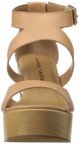 Piel de para Chinese Hazelnut mujer vestir Laundry Sandalias de XUwFqgx
