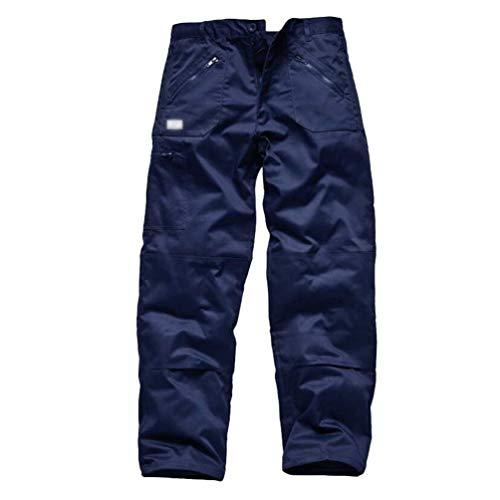Coupe Style De Coupe vent Pantalon Et Pour Décontracté Plein Droite Base Dunkelblau Hommes Crystallly En Simple Air 58nFvXv