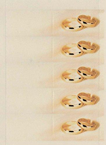 50 Tarjetas para boda y Aniversarios, con anillos – alianzas ...