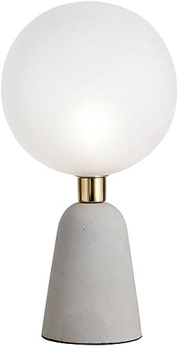 Sforzin 1744 20 Lunar Lampada Da Tavolo Vetro Cemento Bianco Grigio 20 X 36 5 Cm Amazon It Illuminazione