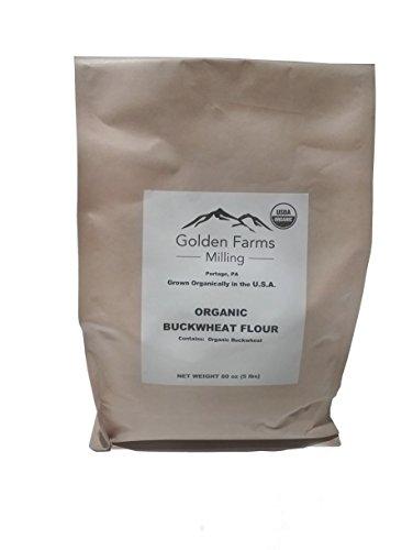 Organic Buckwheat Flour - 80 oz (5lbs) Organic Buckwheat Flour