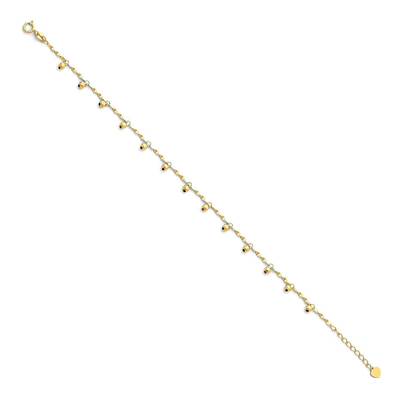 14K solid yellow gold small diamond cut Hawaiian palm tree stud post earrings