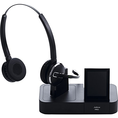 Jabra PRO 9460 Duo Wireless Headset with Touchscreen for Deskphone & Softphone by Jabra (Image #1)