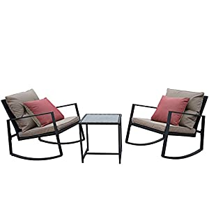 41s8GU4aLFL._SS300_ 100+ Black Wicker Patio Furniture Sets For 2020