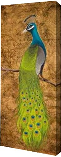 Peacocks I by Josefina – ギャラリーWrapped Gicleeキャンバスアートプリント – Ready To Hang 12