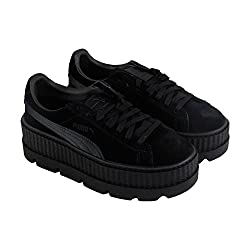 Puma Womens Fenty By Rihanna Black Cleated Creeper 36626804 Sneakers Shoes 7.5