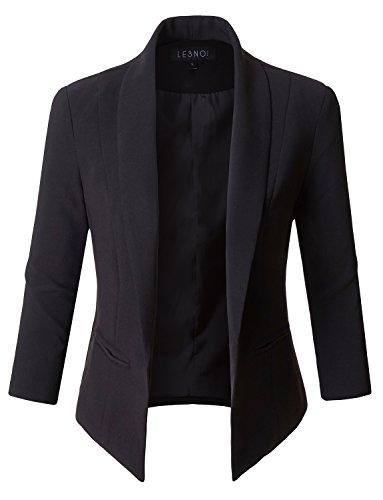 Black Lined Blazer - 2