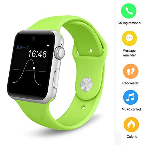 WMWHALE Smart Watch Phone Fitness Tracker 2.5D Pantalla HD 2G ...