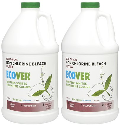 Bleach, 64 oz-2 ct (Quantity of 1) (Ecover Laundry Bleach)