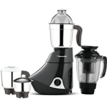 Butterfly Smart 750Watt Mixer Grinder with 4 Jar Grey