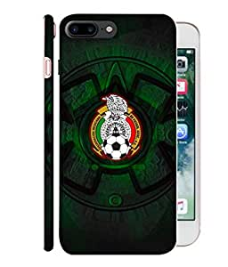 ColorKing Football Mexico 08 Black shell case cover for Apple iphone 7 Plus