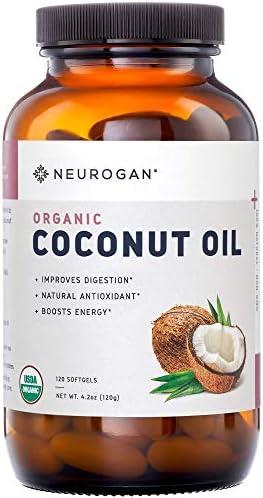 Neurogan Coconut Capsules Supplement Softgels