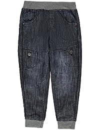 Kids Boys Jogger Jeans Infant Jog Pants Trousers Bottoms Lightweight