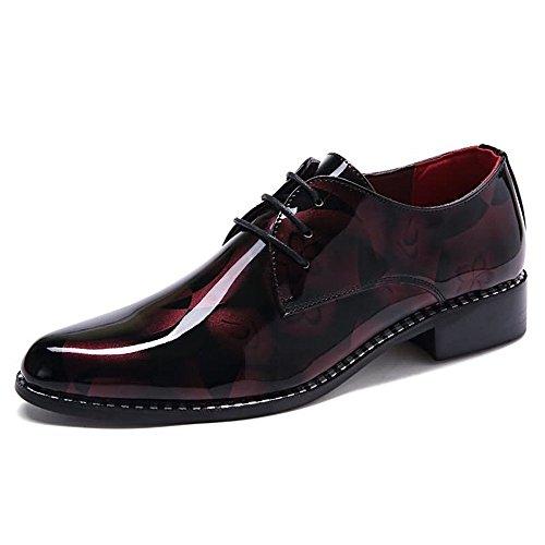 casual Gray shoes scarpe Business da nuovo motivo camouflage ballerine nbsp;uomo Red 6 Shufang uomo tacco piatto mocassino 2018 mocassini 6xRfwR1qa