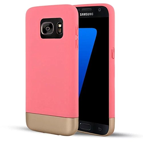 Price comparison product image Urberry S7 Case, Galaxy S7 Case, Metallic Brush Finish Back with Shock Absorbing TPU Inner Case for Samsung Galaxy S7 with a Screen Protector