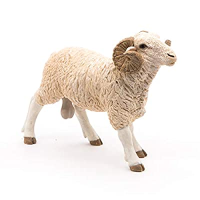 Papo Ram Figure, Multicolor: Toys & Games