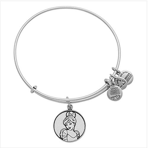 Disney Beautiful Cinderella Silver Bracelet