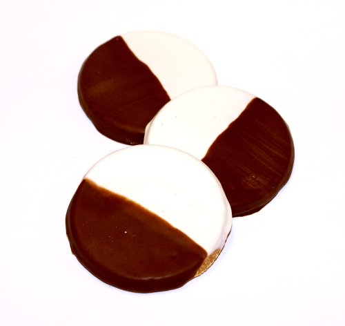 Pawsitively Gourmet Black & White Cookies for Dogs by Pawsitively Gourmet