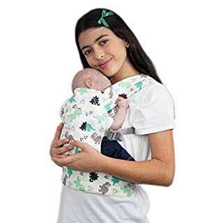 Primo Passi Macrobaby Doll's Maternity Baby Doll Carrier, Front and Back Toy Carrier | Reborn Doll Carrier (Dinosaur)