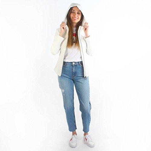 Geox Women Pockets Jackets Hood Bianco 2 W8223B Down rrpBnxdwq