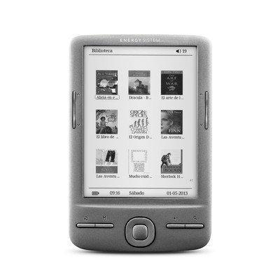 Energy Sistem eReader e4 Mini 4GB Gris lectore de e-Book: Amazon ...