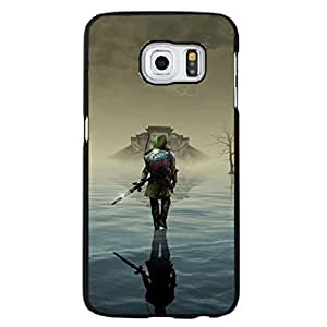 Fashion Effects Background Design The Legend Of Zelda Phone Case Cover for Samsung Galaxy S6 Edge Plus Legend Of Zelda Hot Games
