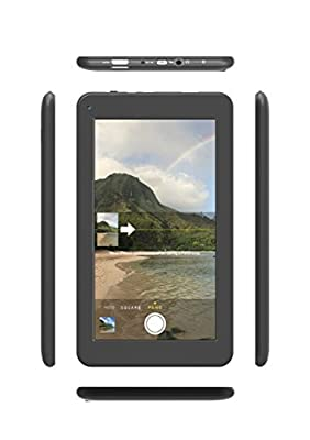 """Astro Tab A724 - 7"""" Quad Core Android 5.0 Lollipop Tablet, 1GB RAM, Google Play pre-loaded, 8GB Storage, Dual Cameras, Wi-Fi, Bluetooth, 1024x600 7 inch HD screen, HDMI (This new model was released in June 2015)"""