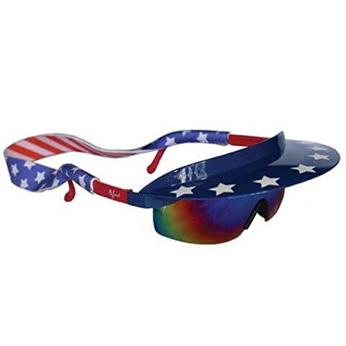 Presidentials Visor Shades Sun Glasses 90s Style Retro, 4th of July