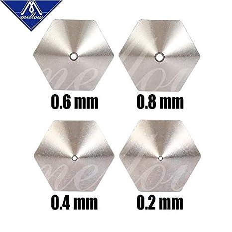 Nf-mk8 Boquillas de cobre chapadas duraderas, barra reductora para ...