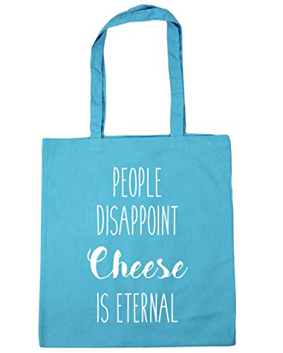 HippoWarehouse Beach Bag Eternal Cheese is Surf Gym People Disappoint 10 Shopping 42cm Blue x38cm Tote litres ATqpArwn