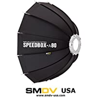 SMDV Alpha Speedbox-A80B - Professional 32 inch (80 cm) Quick Folding Dodecagon Softbox with Bowens Mount
