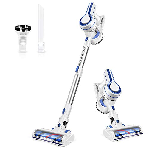 APOSEN Cordless Vacuum Cleaner, Powerful Stick Vacuum Cleaner 4 in 1 Upgraded 3rd Generation with Rechargeable Battery and 1.2L Large Dust Container, Vac for Hard Wood Tile Floor Carpet Pet Hair, H150