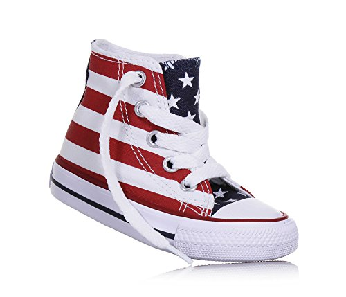 47d354638c2b1 Sneaker bleu Bianco Hi Unisex 21 weiß blanc Bars Stars Bambini Converse  rouge 020820 3 amp  Oq0t0w8v