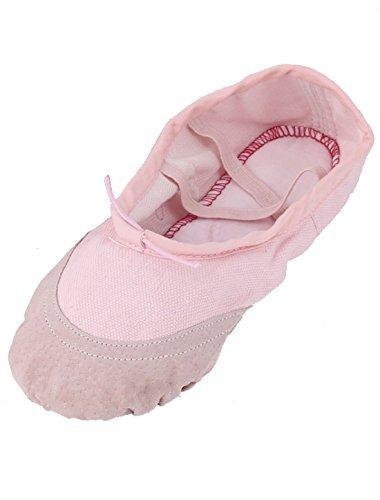 リアル eDealMax Toile élastique Croix Paire Bandes B07GS557CN バレエ フラット Chaussures Chaussures de Danse Rose Taille US 4.5 Paire B07GS557CN, GreenLabel:c2675198 --- sabinosports.com