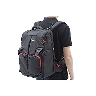 DJI Large Waterproof Shock Resistant Storage Protective Backpack Rucksack With External Pockets for Phantom range, Phantom 1, Phantom 2 and Phantom 3